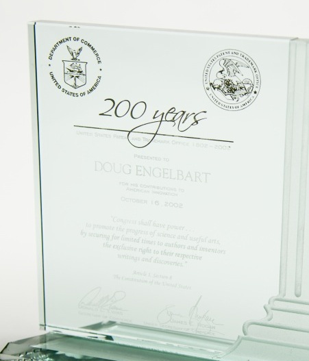 photo of the award